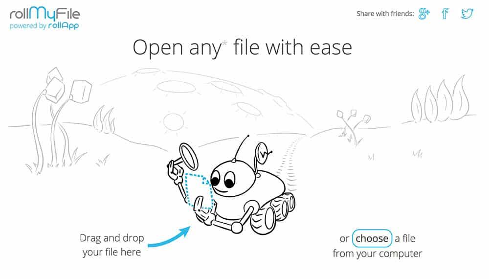 Ver 500 tipos de archivo online