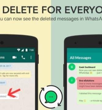 Leer mensajes eliminados de WhatsApp